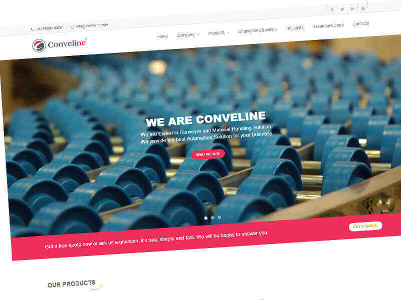Engineering-Website-Designing